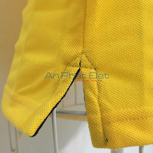 Xem xưởng may áo thun đồng phục thời trang xẽ tà theo mẫu áo tin tế xưởng An Phát Đạt