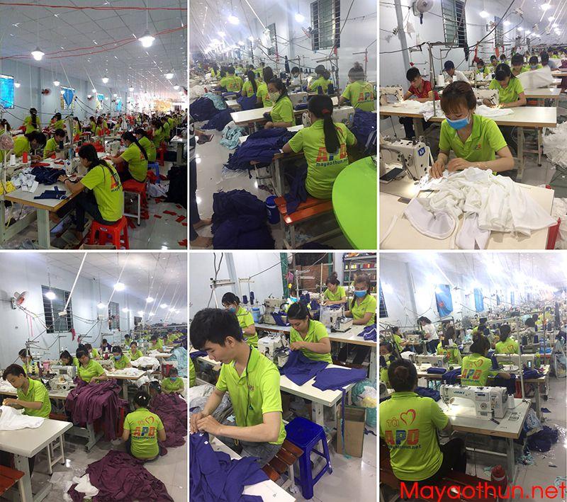 Công ty may áo gió đồng phục giá rẻ