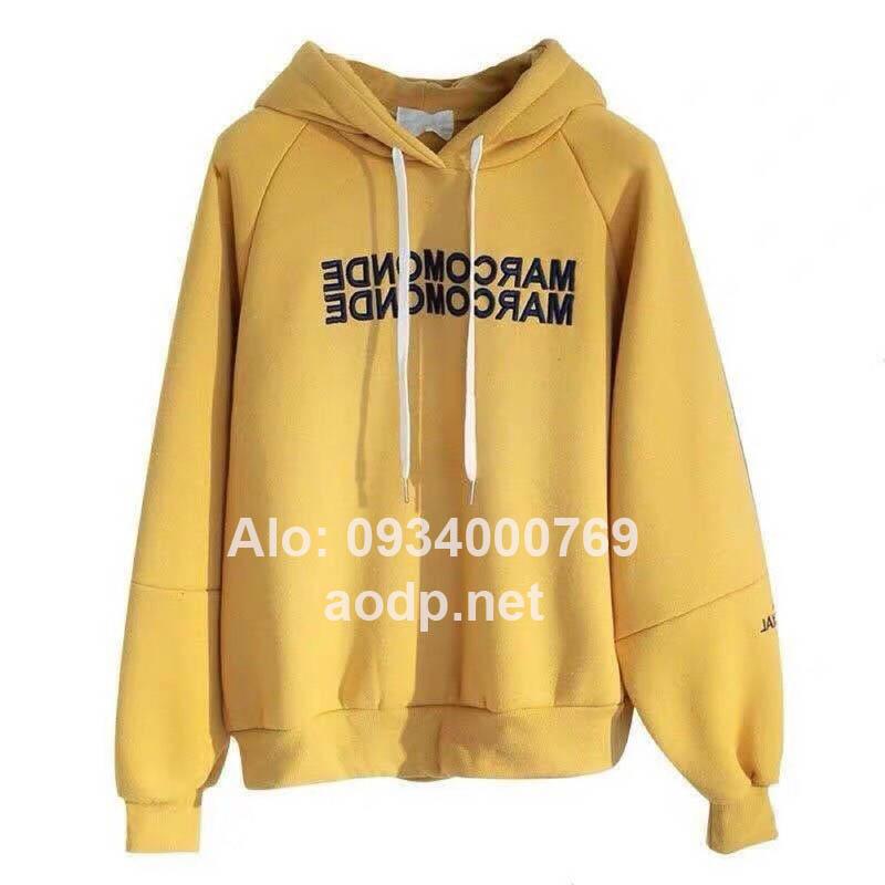 Xưởng may áo khoác hoodie giá rẻ
