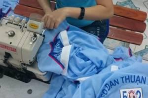 Xưởng in áo thun đồng phục An Phát Đạt