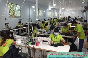 Xưởng may APD với nhiều năm kinh nghiệm trong ngành sản xuất áo gió