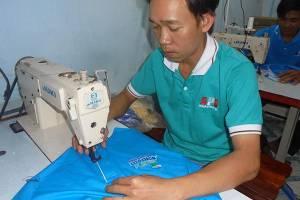 Xưởng may áo thun quảng cáo sự kiện