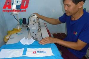 Xưởng may in áo thun đồng phục thể thao tphcm